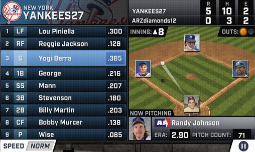 Screenshots von WGT baseball MLB für Android-Tablet, Smartphone.