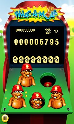 WHAC-A-MOLE screenshot 1