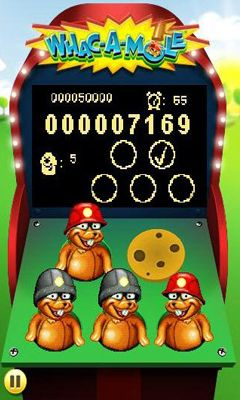 Screenshots do WHAC-A-MOLE - Perigoso para tablet e celular Android.