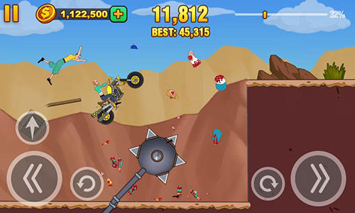 Screenshots do Wheel dismount - Perigoso para tablet e celular Android.