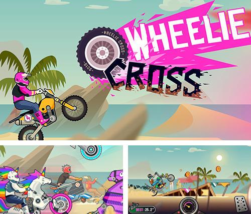 Wheelie cross: Motorbike game