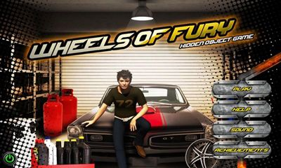 Wheels of Fury - Hidden Object poster