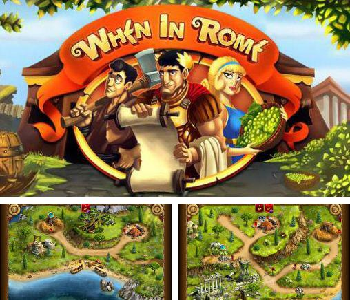 In addition to the game The Settlers HD for Android phones and tablets, you can also download When in Rome for free.