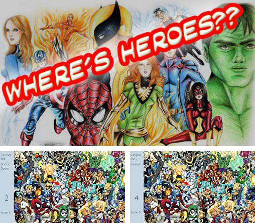 In addition to the game Mini Ini Mo for Android phones and tablets, you can also download Where's heroes?? for free.