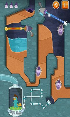 Screenshots do Where's My Perry? - Perigoso para tablet e celular Android.