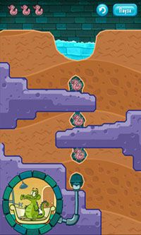 Screenshots do Where's My Water? - Perigoso para tablet e celular Android.