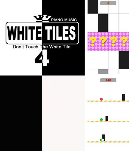 White tiles 4: Don't touch the white tile