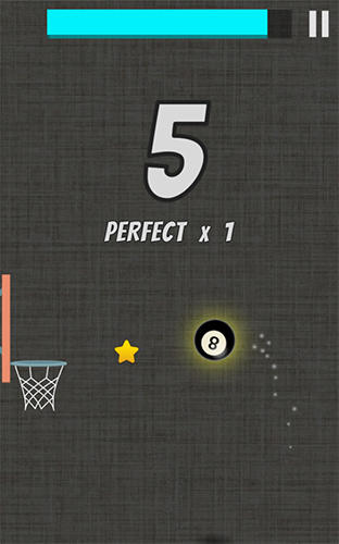 Capturas de pantalla de Whooh hot dunk: Free basketball layups game para tabletas y teléfonos Android.