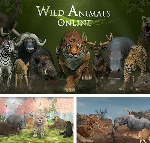 Wild animals online