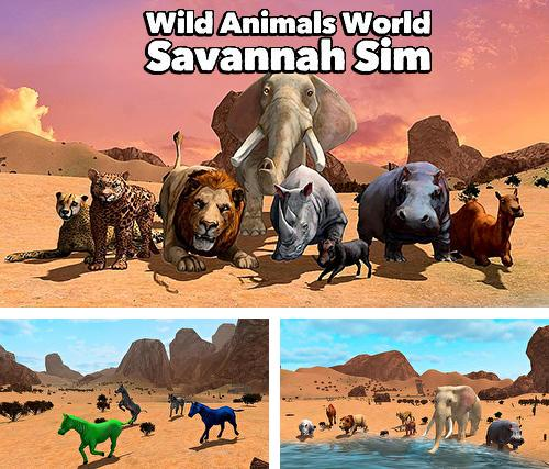 Wild animals world: Savannah simulator