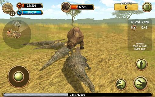 Wild crocodile simulator 3D screenshot 2