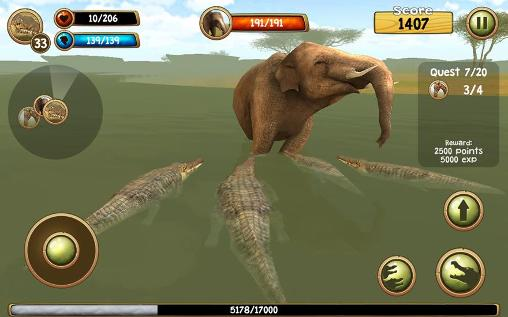 Wild crocodile simulator 3D screenshot 3