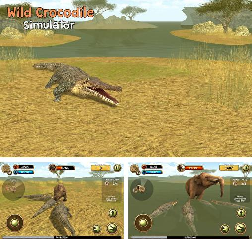 In addition to the game Killer Snake for Android phones and tablets, you can also download Wild crocodile simulator 3D for free.
