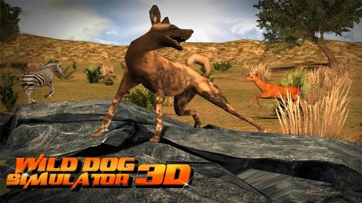 Wild dog simulator 3D