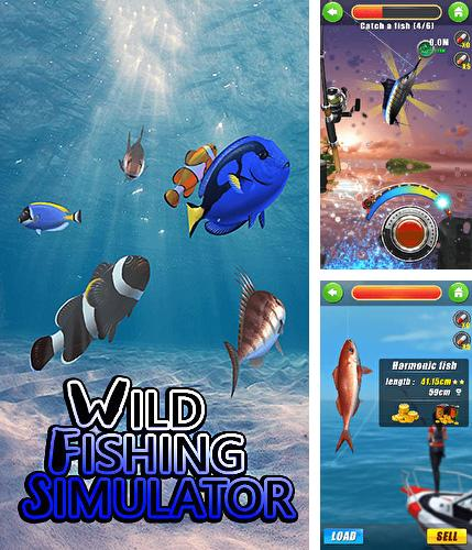 Wild fishing simulator
