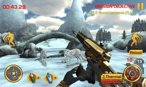 Screenshots von Wild hunter 3D für Android-Tablet, Smartphone.