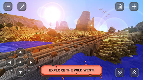Kostenloses Android-Game Wild West Craft: Erkundung. Vollversion der Android-apk-App Hirschjäger: Die Wild West craft: Exploration für Tablets und Telefone.