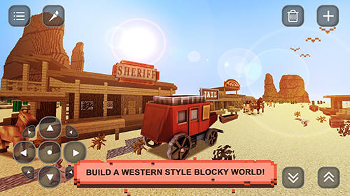 Screenshots von Wild West craft: Exploration für Android-Tablet, Smartphone.