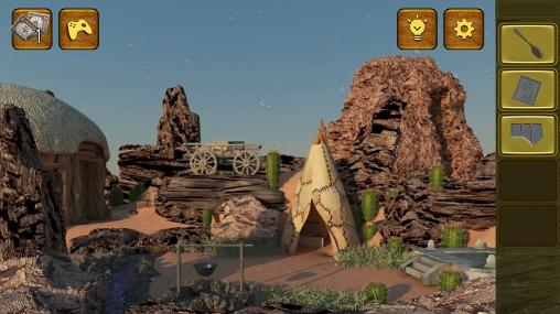 Screenshots von Wild West escape für Android-Tablet, Smartphone.