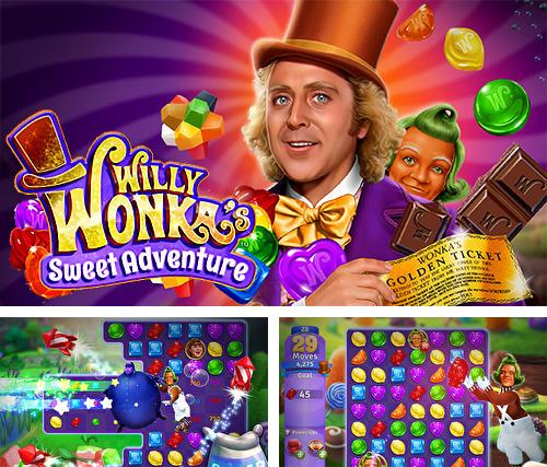 Willy Wonka's sweet adventure: A match 3 game