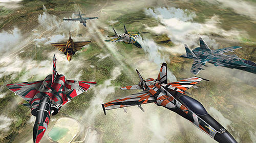 Capturas de pantalla de Wings of war: Modern warplanes para tabletas y teléfonos Android.