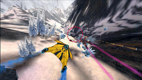 Screenshots von Wingsuit flying für Android-Tablet, Smartphone.