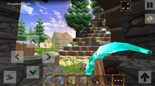 Screenshots von Winter blocks 2: Exploration für Android-Tablet, Smartphone.