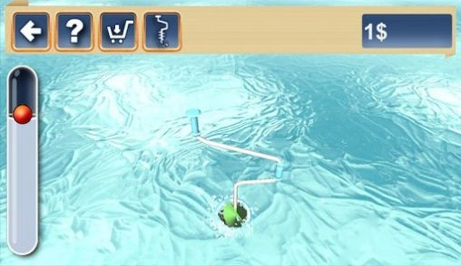 Winter fishing 3D 2 скриншот 2