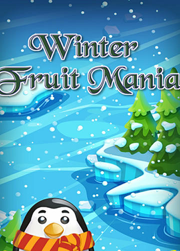 Winter fruit mania poster