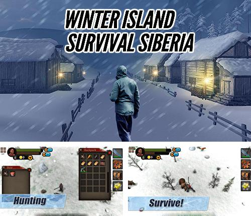 Winter Island: Crafting game. Survival Siberia