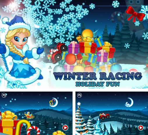 Winter кacing: Holiday fun