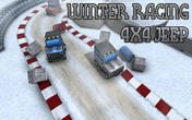 Winter racing: 4x4 jeep APK
