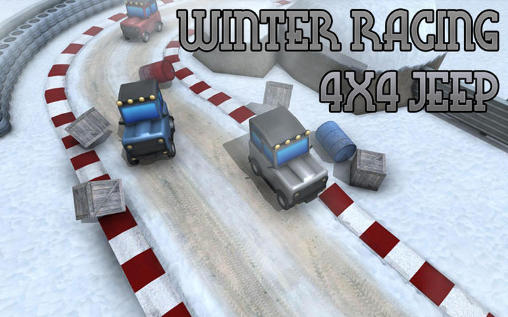 Winter racing: 4x4 jeep