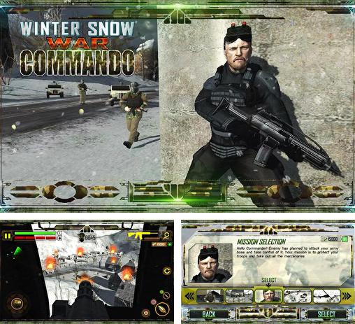 In addition to the game Sniper shooter: Bravo for Android phones and tablets, you can also download Winter snow war commando. Navy seal sniper: Winter war for free.