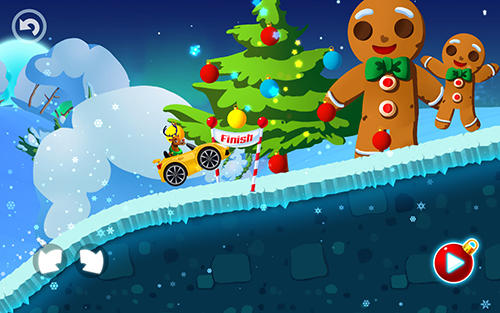 Winter wonderland: Snow racing screenshot 3
