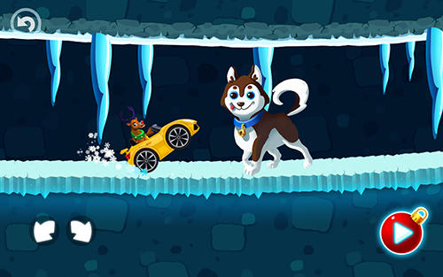 Winter wonderland: Snow racing screenshot 4