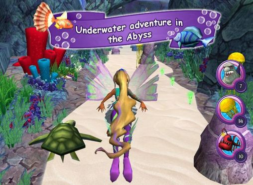Capturas de pantalla de Winx club: The mystery of the abyss para tabletas y teléfonos Android.