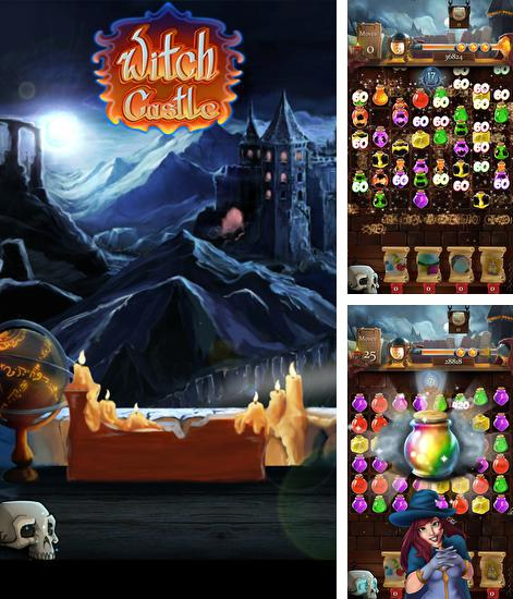 In addition to the game Kingdom jewels for Android phones and tablets, you can also download Witch castle: Magic wizards for free.