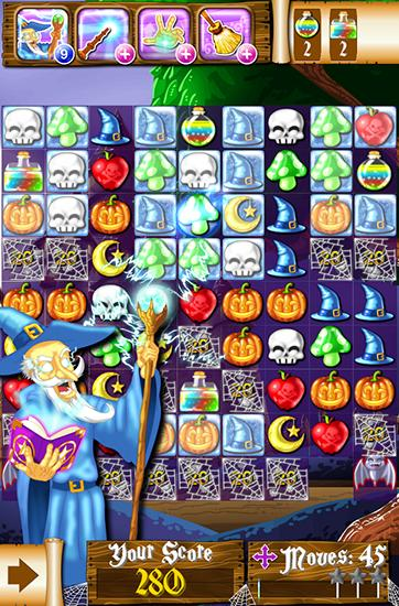 Witch puzzle: Match 3 game screenshot 1