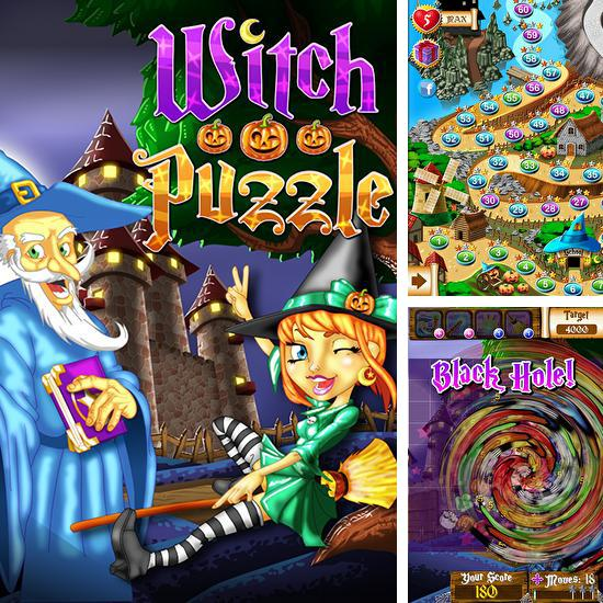 Witch puzzle: Match 3 game