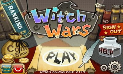 Witch Wars Puzzle screenshot 1