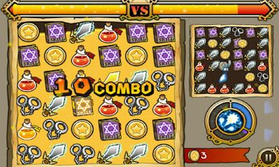 Witch Wars Puzzle screenshot 2