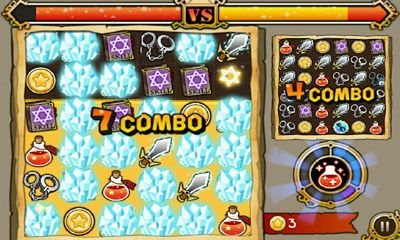 Witch Wars Puzzle screenshot 5