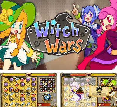 In addition to the game Ski Safari Halloween Special for Android phones and tablets, you can also download Witch Wars Puzzle for free.