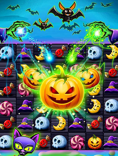 Witchdom: Candy witch match 3 puzzle screenshot 2