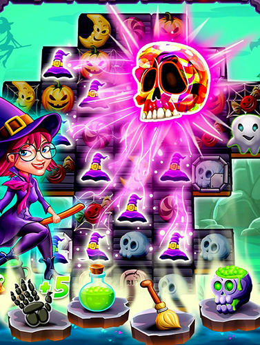 Witchdom: Candy witch match 3 puzzle screenshot 3