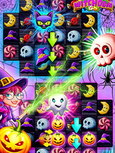 Witchdom: Candy witch match 3 puzzle screenshot 4