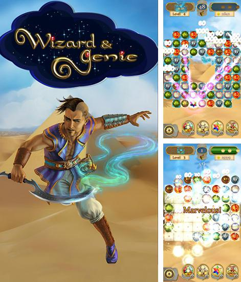 Wizard and genie: Match 3 stars