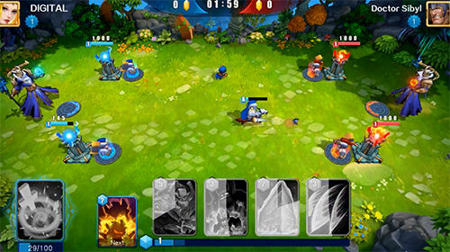 Wizard lord: Cast and rule screenshot 2