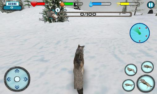 Screenshots von Wolf simulator extreme für Android-Tablet, Smartphone.